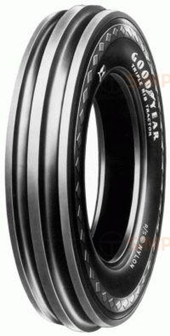 Goodyear Triple Rib RS F-2 5.00/--15SL TRR235