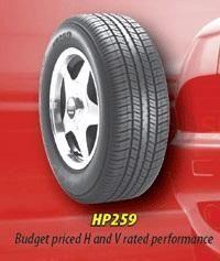 Cyclone HP259 P195/65R-14 22024