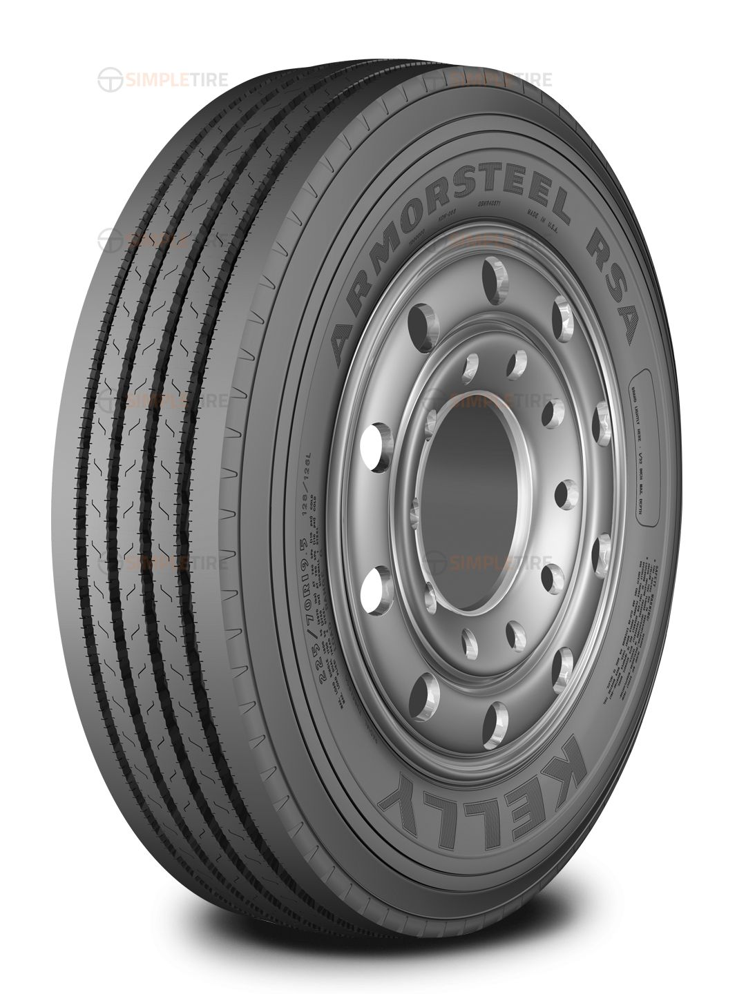 358623003 225/70R19.5 RSA Kelly Tires