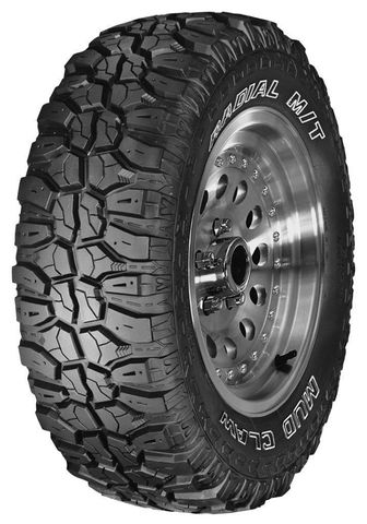 Jetzon Mudclaw Radial M/T LT265/75R-16 clw39