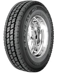 5210970000 11/R24.5 General HD Tire General