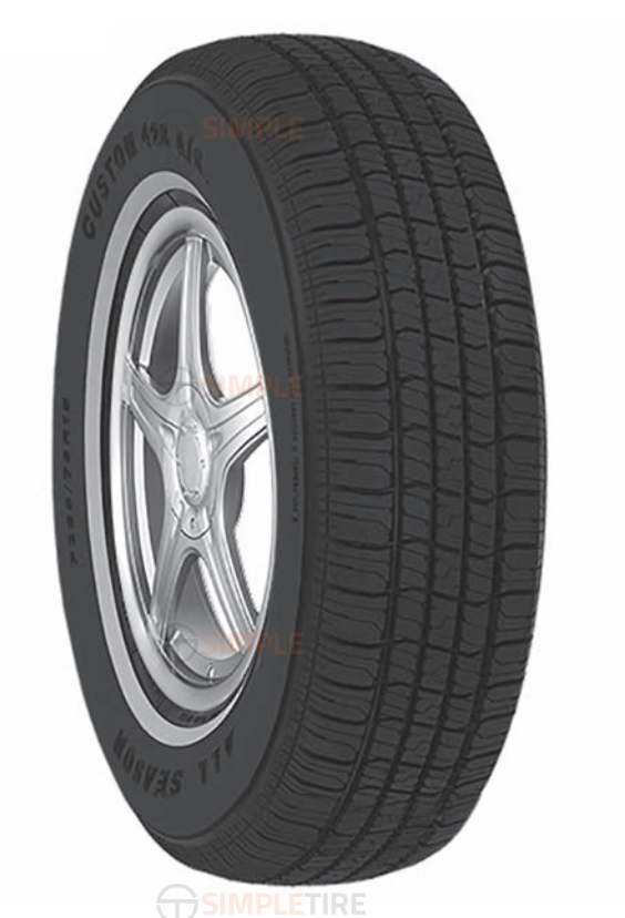 CUS47 P205/75R14 Custom 428 A/S Multi-Mile