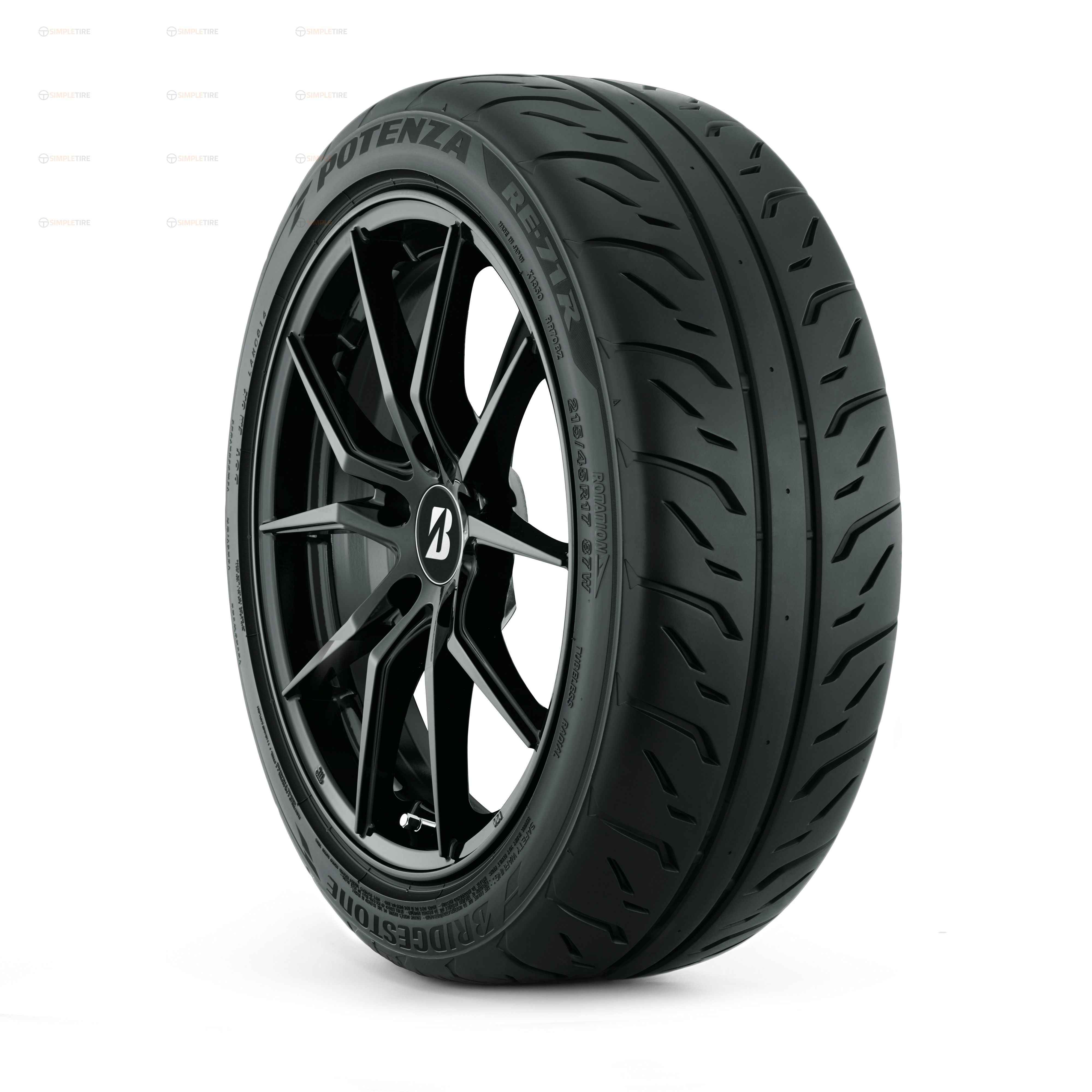 146761 255/40R17 Potenza RE71 Bridgestone