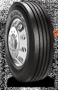 241592 295/75R22.5 R268 Ecopia Bridgestone