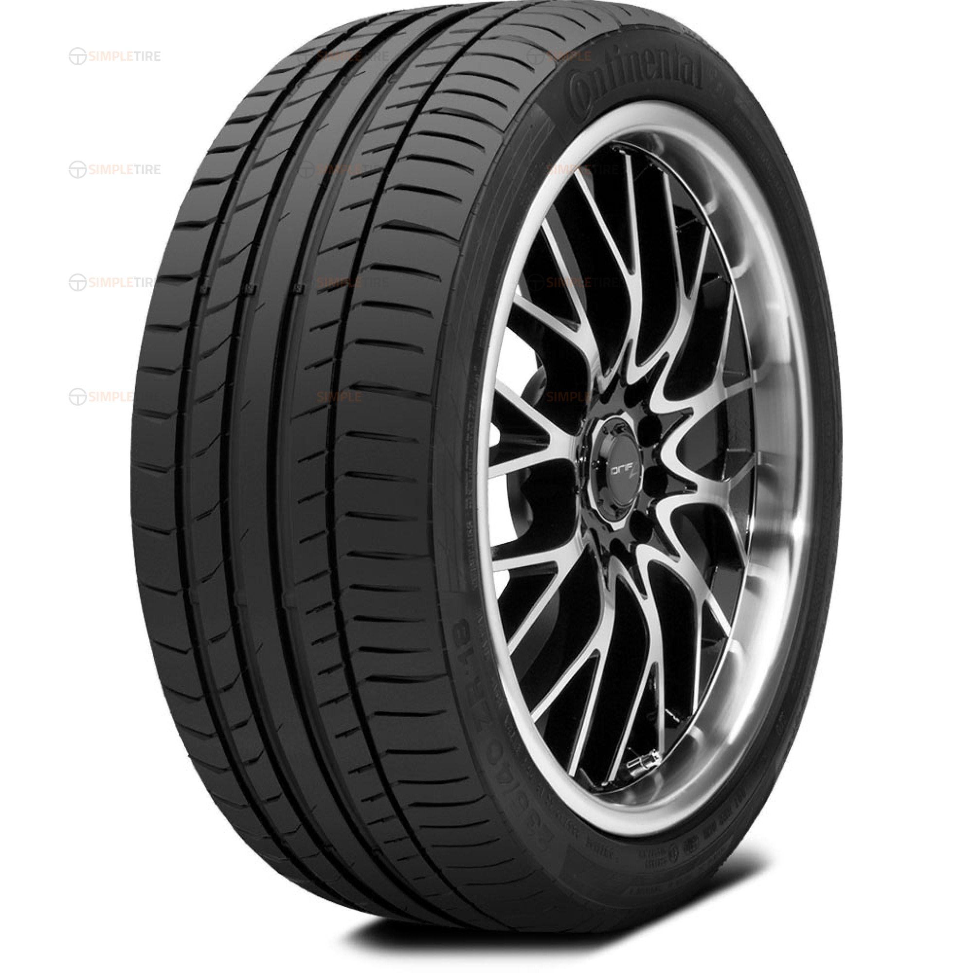 03508300000 P225/40R19 ContiSportContact 5P SSR Continental