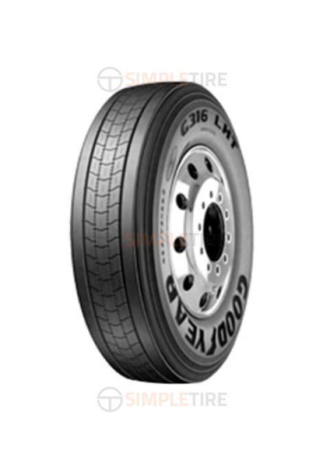 756604263 285/75R24.5 G316 LHT Fuel Max Goodyear