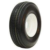 FVW22 20.5/8-10 O.E.M. White Tire/Wheel Assembly - LP Tire Multi-Mile