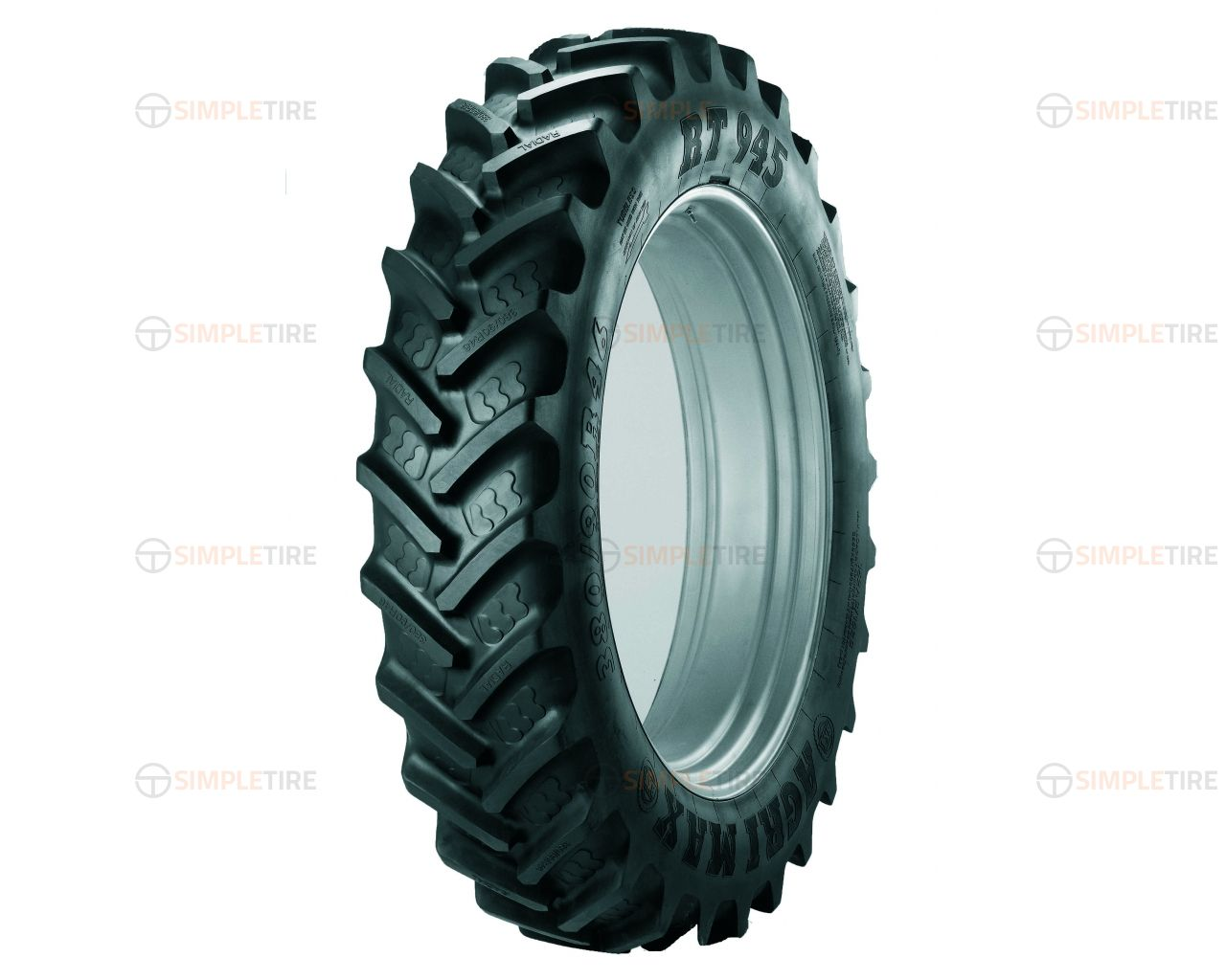 94021833 380/90R46 Agrimax RT 945 Radial Tractor R-1W BKT