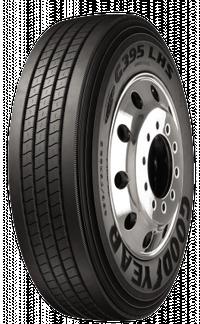 756816249 285/75R24.5 G395 LHS Fuel MAX Goodyear