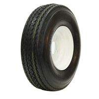 TE-FAW20 20.5/8--10 O.E.M. White Tire/Wheel Assembly - LP Tire Telstar