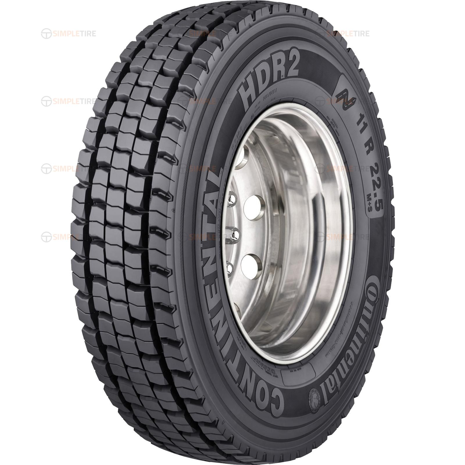 05221410000 315/80R22.5 HDR2 Tread B Continental