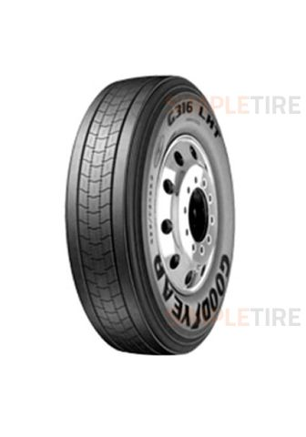 Goodyear G316 LHT Fuel Max 255/70R-22.5 756067263