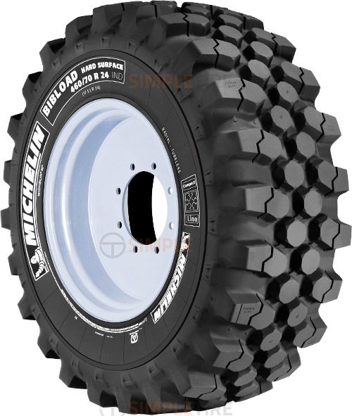 66605 340/80R18 Bibload  Hard Surface Michelin