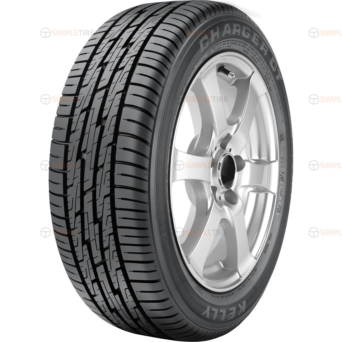 Kelly Tires Charger P205/60R-15 356501730