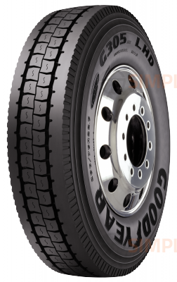 756604357 285/75R24.5 G305 AT LHD Fuel Max Goodyear