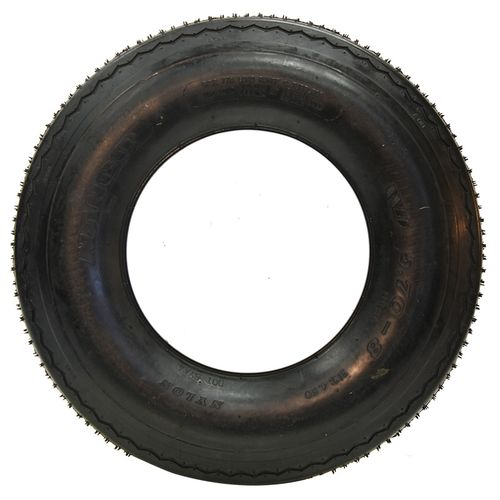 Jetzon O.E.M. White Tire/Wheel Assembly - LP Tire 20.5/8--10 FAW20