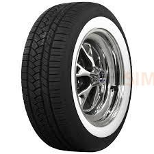 6764302 P205/60R16 American Classic Wide Whites, Narrow Whites Coker