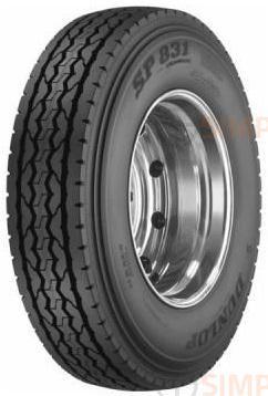 271122771 255/70R22.5 SP 831 Dunlop