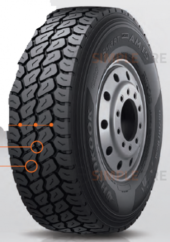 Hankook Smart Work AM15 425/65R-22.5 3001934