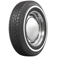 568760 P195/75R-15 American Classic Narrow Whitewall Radial Coker